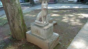 上板橋御嶽神社(桜川御嶽神社) 狼像 (3)