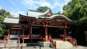 武蔵野八幡宮 拝殿