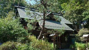 ときわ台天祖神社 拝殿