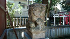熊野神社(熊野町) 狛犬 (1)
