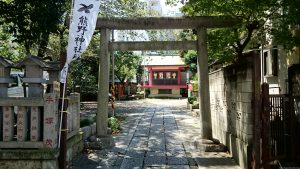 熊野神社(熊野町) 北鳥居