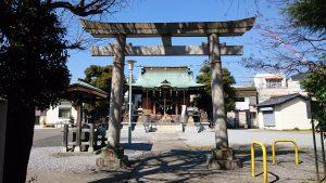 三輪里稻荷神社(こんにゃく稲荷) 鳥居