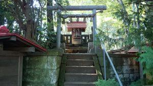 上板橋御嶽神社(桜川御嶽神社) 天祖神社 鳥居