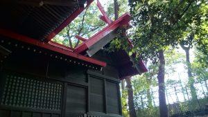 上板橋御嶽神社(桜川御嶽神社) 本殿