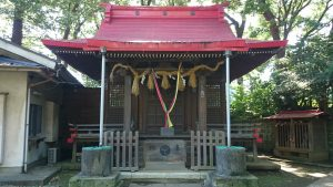 上板橋御嶽神社(桜川御嶽神社)