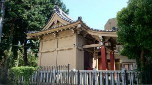ときわ台天祖神社 境外末社 豊敬稲荷神社 社殿