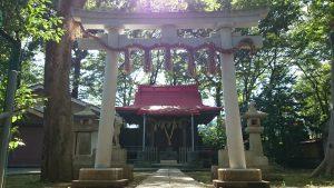 上板橋御嶽神社(桜川御嶽神社) 二の鳥居