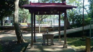 上板橋御嶽神社(桜川御嶽神社) 手水舎