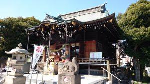 三輪里稻荷神社(こんにゃく稲荷) 拝殿