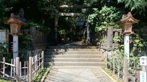 ときわ台天祖神社 南参道