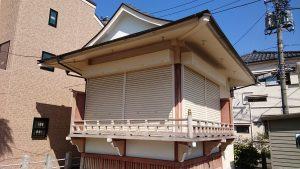 三輪里稻荷神社(こんにゃく稲荷) 神楽殿