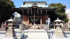 三輪里稻荷神社(こんにゃく稲荷)