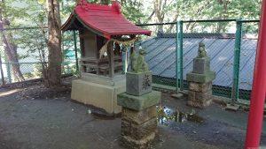 上板橋御嶽神社(桜川御嶽神社) 稲荷神社 社殿