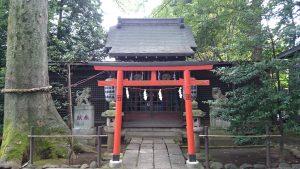 武蔵野八幡宮 境内社合殿