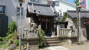 亀戸水神宮(亀戸水神社) 社殿
