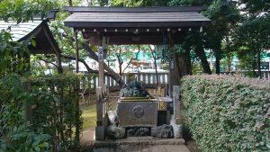 武蔵野八幡宮 手水舎