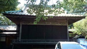 ときわ台天祖神社 神楽殿