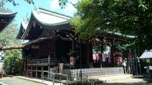 子易神社(板橋) 社殿