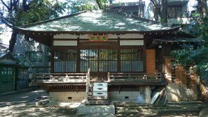 ときわ台天祖神社 参集殿(祖霊社)