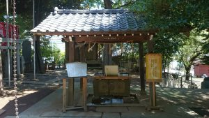 子易神社(板橋) 手水舎
