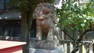 熊野神社(熊野町) 狛犬 (2)