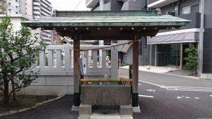 貴舩神社(貴菅神社) 手水舎