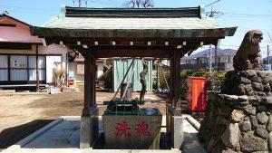 成宗須賀神社 手水舎