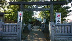 西台天祖神社 鳥居