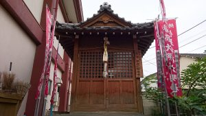 大森諏訪神社 稲荷神社 社殿