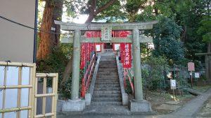 西台天祖神社 稲荷神社 一の鳥居