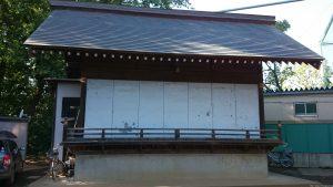 中台稲荷神社 神楽殿