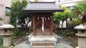 大森諏訪神社境外摂社・金山神社 社殿