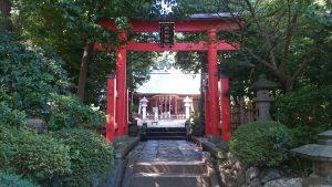東新町氷川神社 三の鳥居