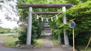 有賀神社 一の鳥居