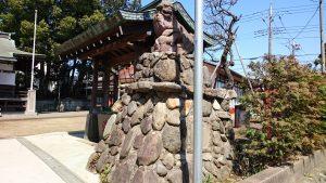 成宗須賀神社 狛犬 阿