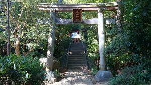 東新町氷川神社 二の鳥居