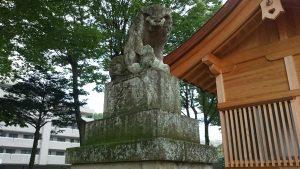 八王子多賀神社 狛犬 吽
