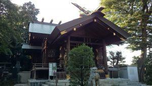 西台天祖神社 拝殿