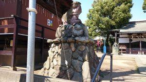 成宗須賀神社 狛犬 吽