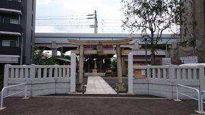 貴舩神社(貴菅神社) 鳥居