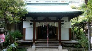 於岩稲荷田宮神社