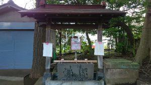 牟禮神明社(牟礼神明社) 手水舎