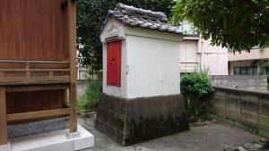 大森諏訪神社境外摂社・金山神社 土蔵