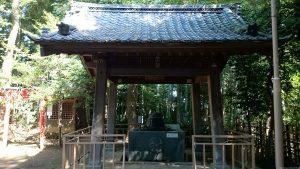 東新町氷川神社 手水舎