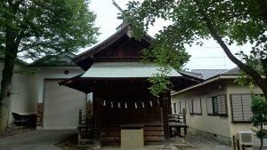 八王子多賀神社 機守神社(五社合殿)