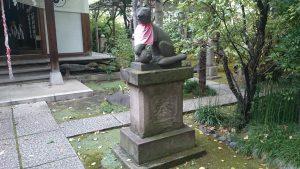 於岩稲荷田宮神社 狛狐 阿