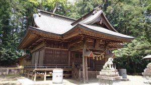 有賀神社 拝殿