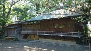 東新町氷川神社 神楽殿