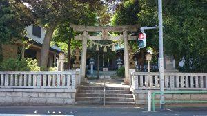 中台稲荷神社 鳥居
