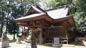 有賀神社 社殿